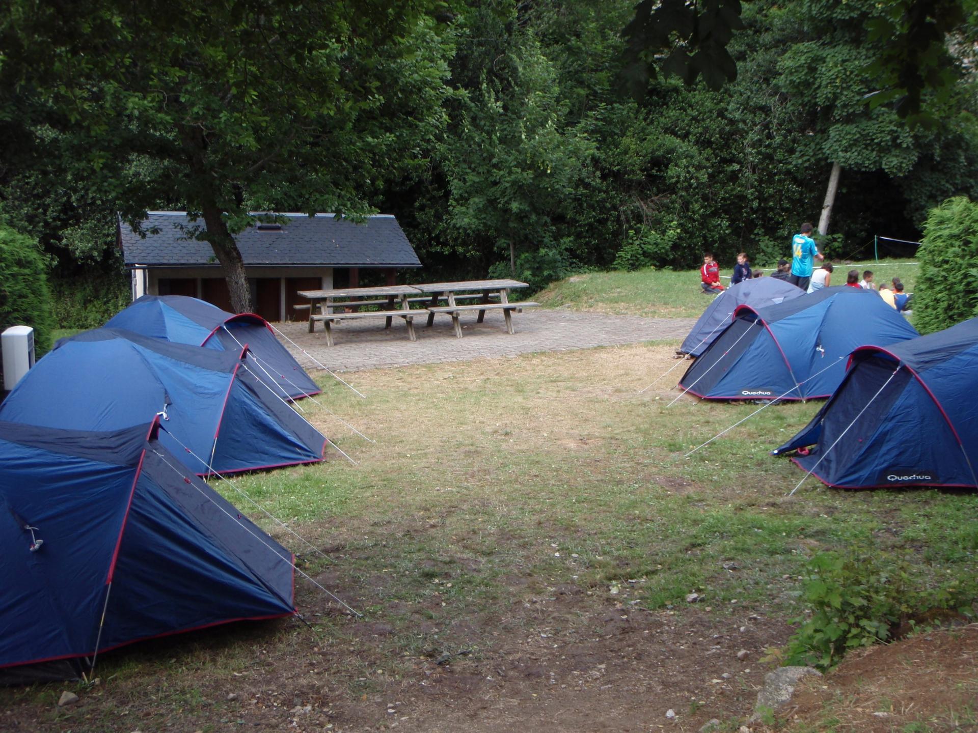2 tentes
