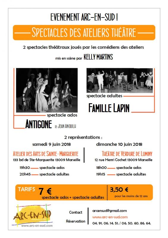 Affiche spectacle 2018