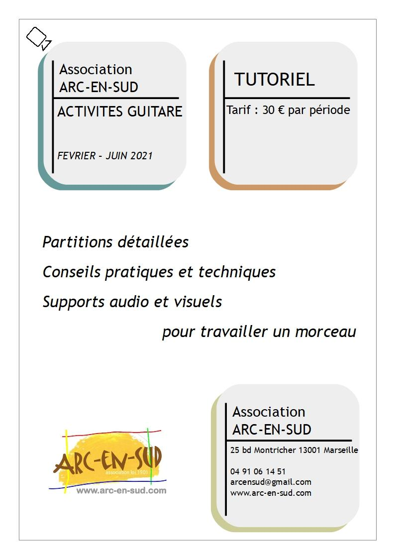 Affiche tutoriel guitare