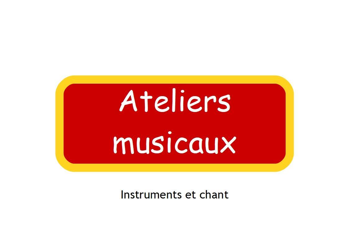 Ateliers musicaux
