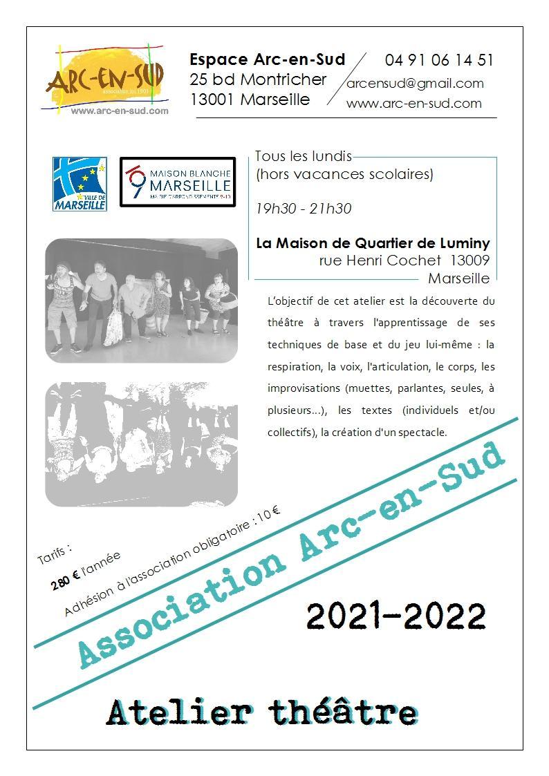 Brochure atelier theatre 2021 2022