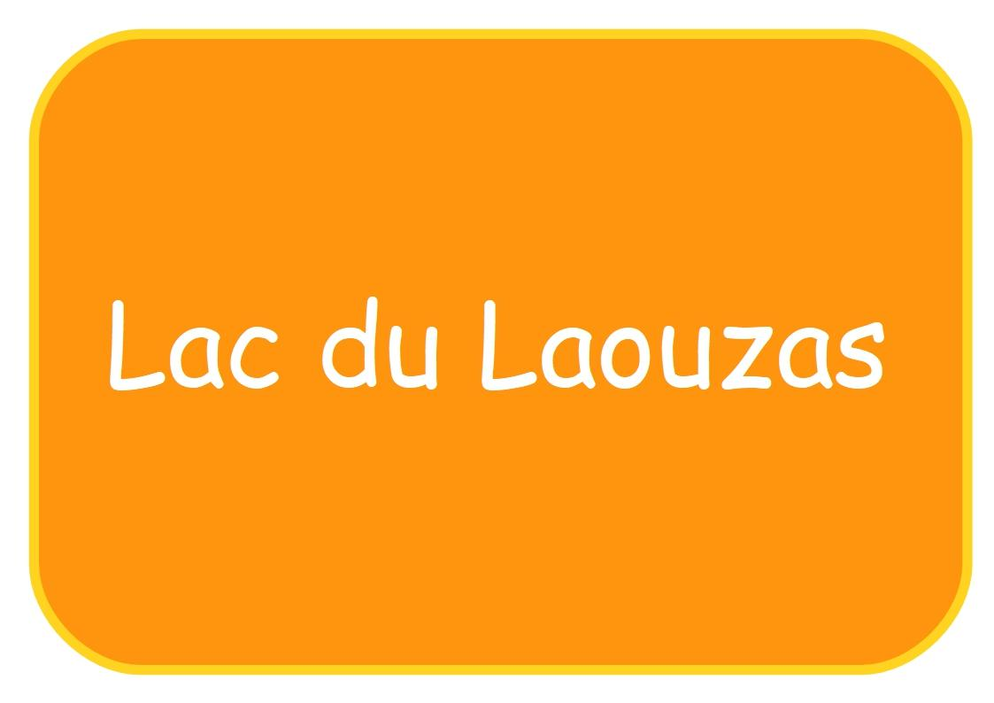 Lac du laouzas affichette